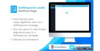 Leads getresponse wordpress plugin