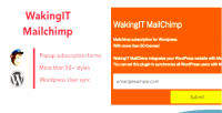 Mailchimp wakingit plugin wordpress newsletter