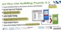 Plus ad popup building list
