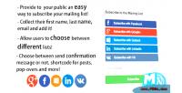 Social mymail wordpress