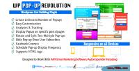 Wp popup revolution wordpress plugin building list
