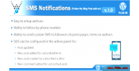 Notifications sms follow blog my on add post
