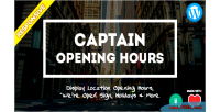 Opening captain hours widget plugin wordpress