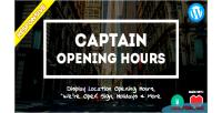 Opening captain hours widget plugin wordpress