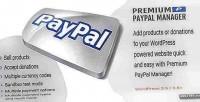 Paypal premium manager