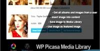 Picasa wp media library