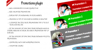Plugin promotions wordpress plugin