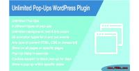 Pop unlimited plugin wordpress ups