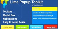 Popup lime toolkit composer visual for