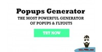 Popups generator powerful wordpress plugin for generate of block flyouts popups