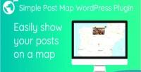 Post simple plugin wordpress map
