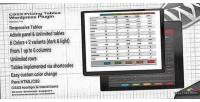 Pricing css3 plugin wordpress tables