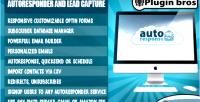 Pro autoresponse plugin autoresponder email