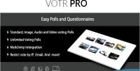 Pro votr easy plugin wordpress poll vote