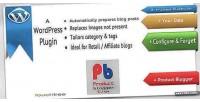 Product wordpress blogger