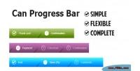 Progress can bar