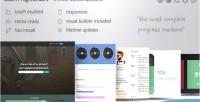 Progress wordpress bars ultimate infinite dzs builder with customizations