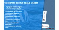 Pullout wordpress popup widget