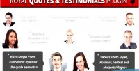 Quotes royal wordpress grid testimonials layers