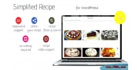 Recipe simplified for wordpress