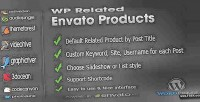 Related wp envato products
