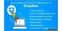 Restore backup clone dropbox your via wordpress