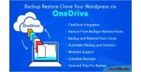 Restore backup clone onedrive your via wordpress