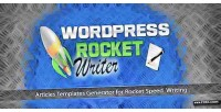 Rocket wordpress writer