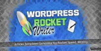 Rocket wordpress writer