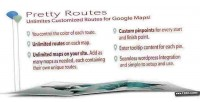 Pretty routes add routes maps google to