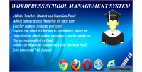 School wordpress management system