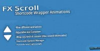 Scroll fx shortcode wrapper animated