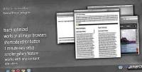 Scroller dzs plugin scrollbar wordpress