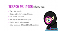Search manager plugin for wordpress & woocommerce