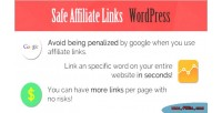 Affiliate safe plugin wordpress links