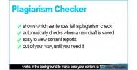Checker plagiarism