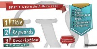 Extended wp meta tags