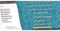 Finder keyword for wordpress
