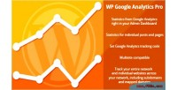 Google wp analytics pro