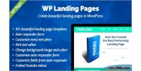 Landing wp pages