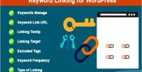 Linking keyword for wordpress