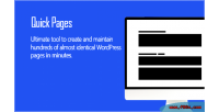 Pages quick tool seo wordpress