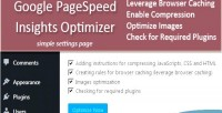 Pagespeed google insights optimizer