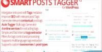 Posts smart tagger