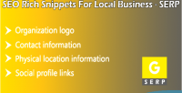 Rich seo snippets serp for business local