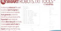 Robots.txt smart tools