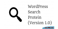 Search wordpress protein