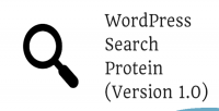 Search wordpress protein