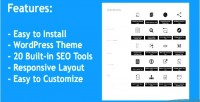 Seo small tools wordpress theme 20 with built tools seo in
