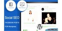 Seo social facebook feed timeline responsive